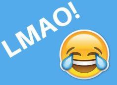 Что значит lmao на английском